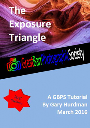 Exposure Triangle Tutorial Front Cover